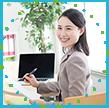 専任スタッフ(1000人以上のママ雇用の実績あり)が、これまでに培ったサポート力であなたのキャリアをサポート