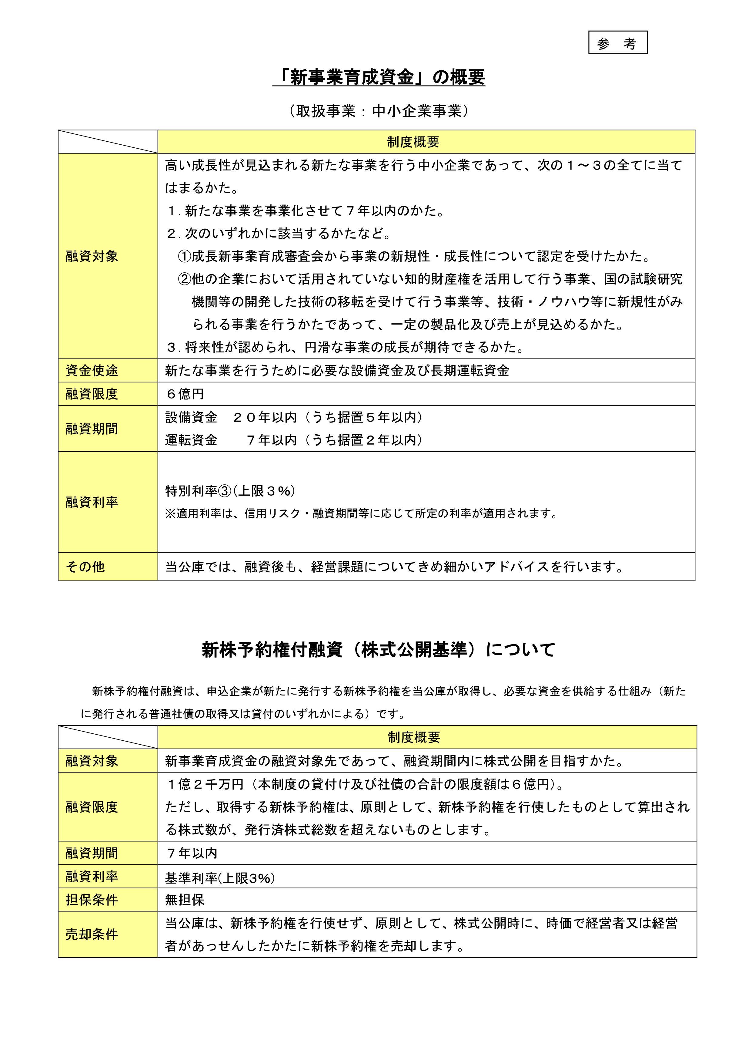 日本政策金融公庫リリース2